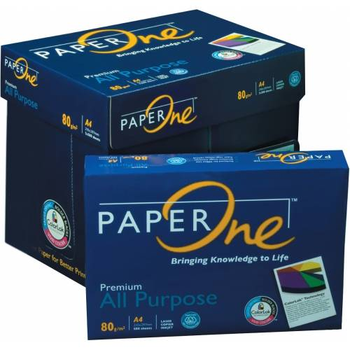 PaperOne Copier Paper A4 80gsm,75gsm,70gsm Original Paper One All Purpose