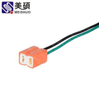 MEISHUO H7 male female wire connector harness Bulb Holder