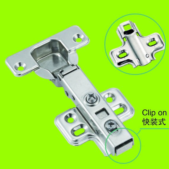 classical cabinet hardware stainless steel clip on hinge