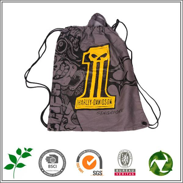 Drawstring bag for promotion