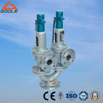 A43h Twin Spring Double Port Full Lift Safety Valve