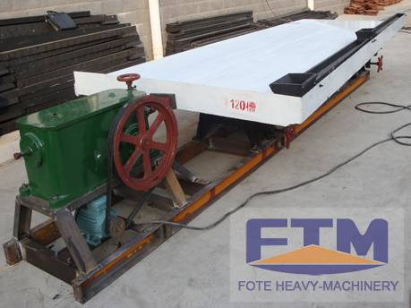 Mineral processing vibration gold shaking table