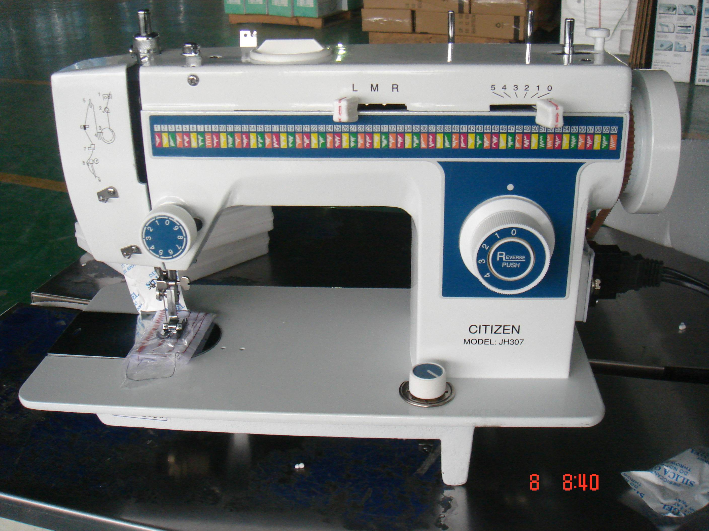 JH307 zigzag sewing machine