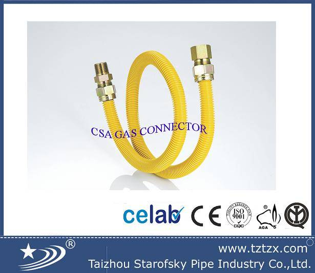 CSA cooker gas and lpg natural gas connector