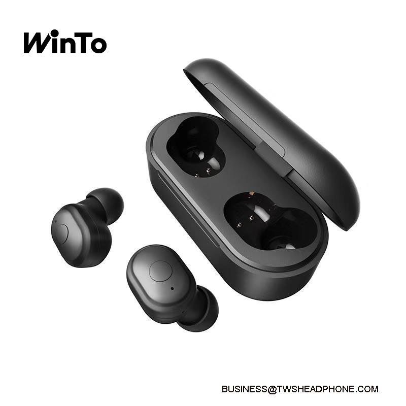 T11 Bluetooth 5.0 wireless earbuds, 6h continuous play for one charge, deep bass crystal clear sound