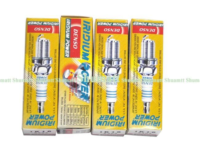 Universal Denso Spark Plugs IK16 5303 Work For Yaris Corolla Tiida