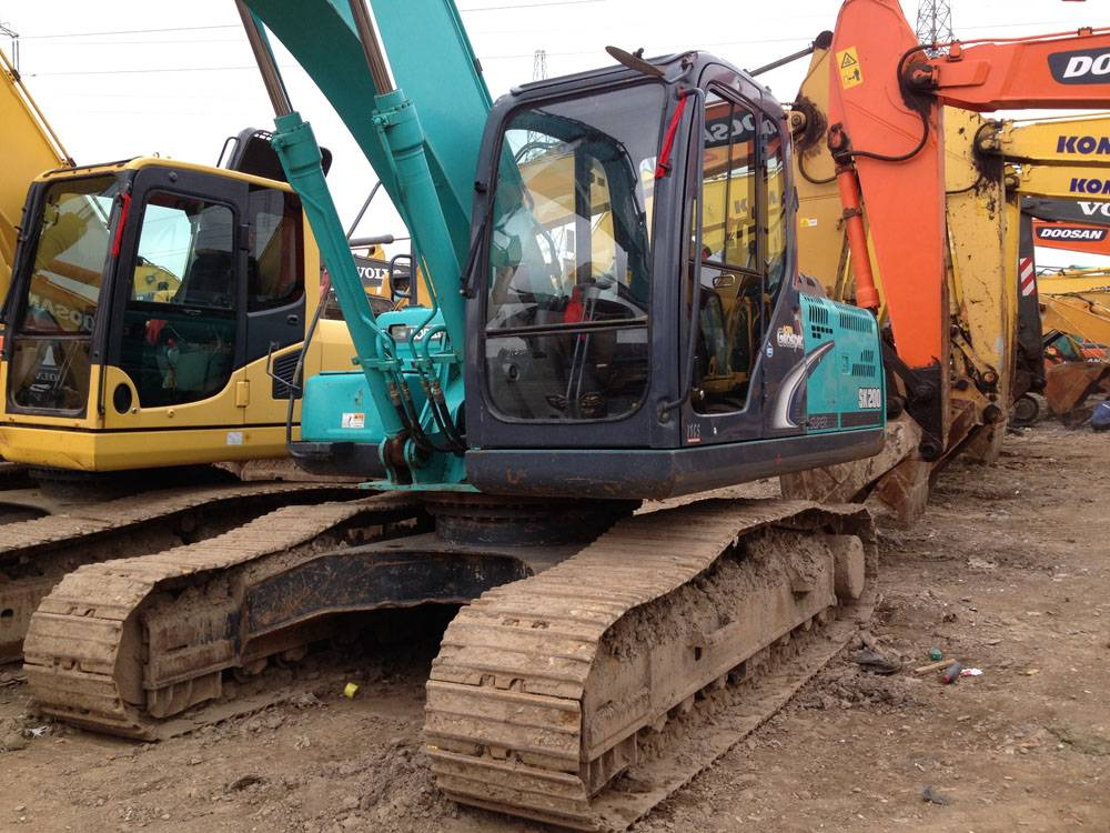 used kobelco excavator sk200-8 for sale