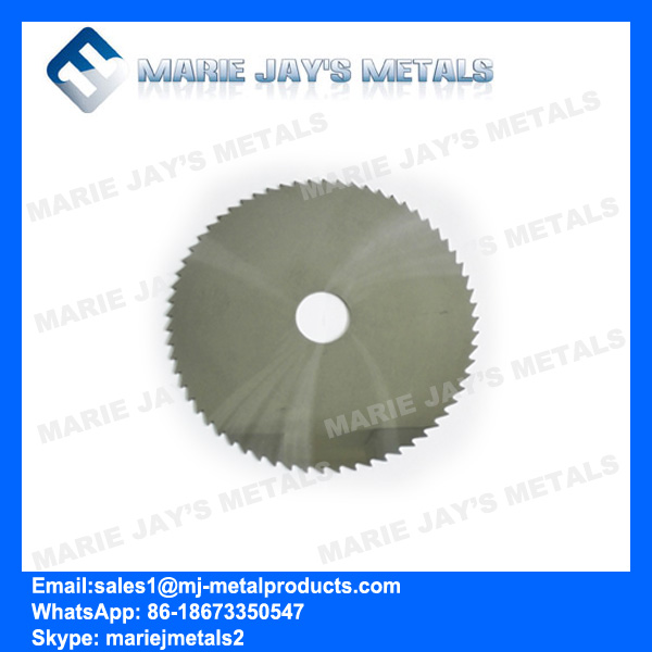Tungsten Carbide Slitting Saw for Copper