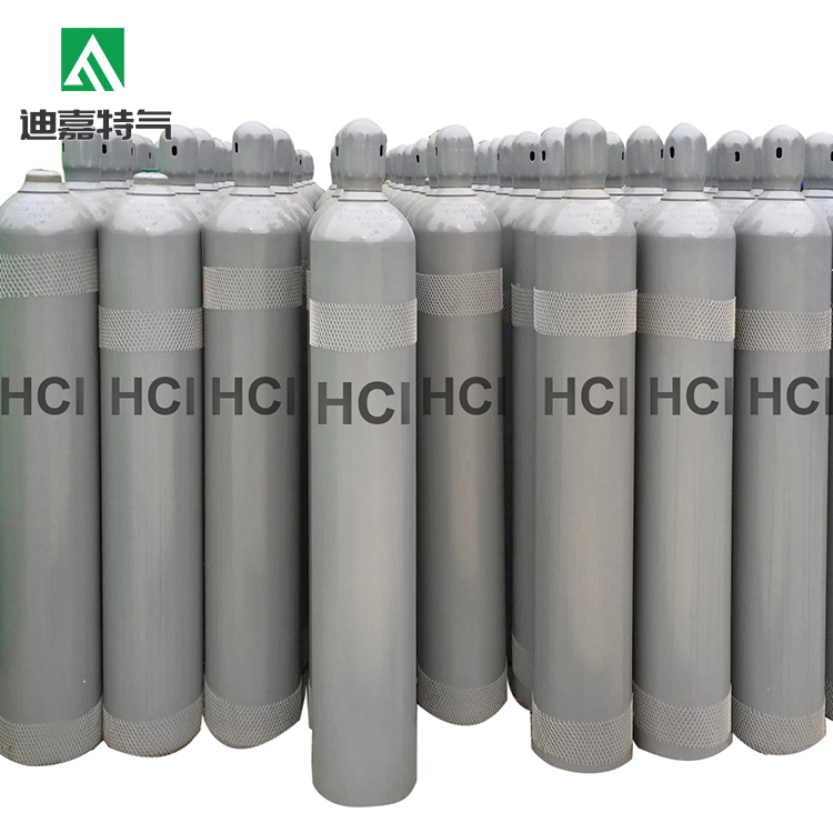 Colorless chemicals gases of hcl gas