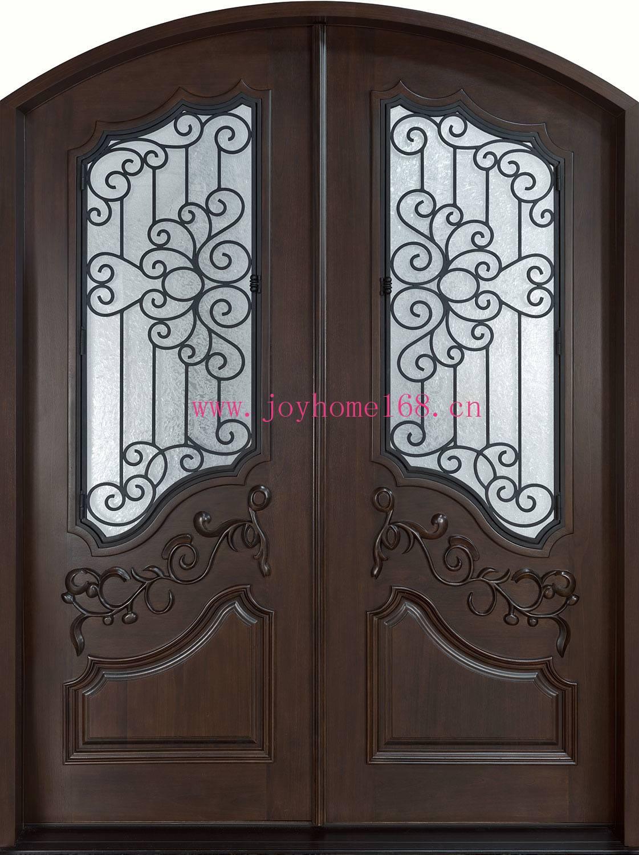 Hot-sale iron decorative entry door