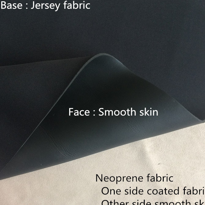 smooth skin neoprene rubber sheet jersey fabric side smooth skin thick 2mm 3mm for beach bikini bra