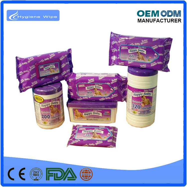Wholesale bamboo organice flushabel cleaning baby wipe