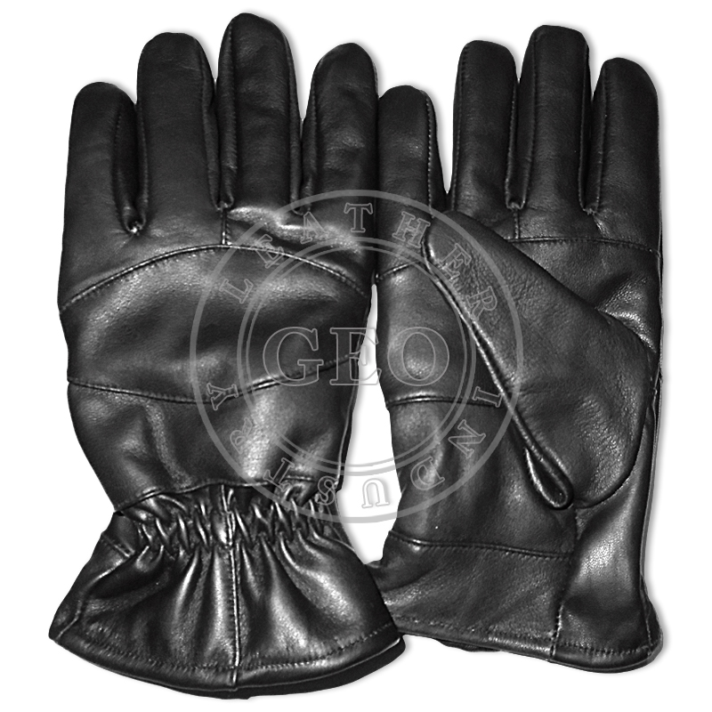 Cut Piece Leather Gloves