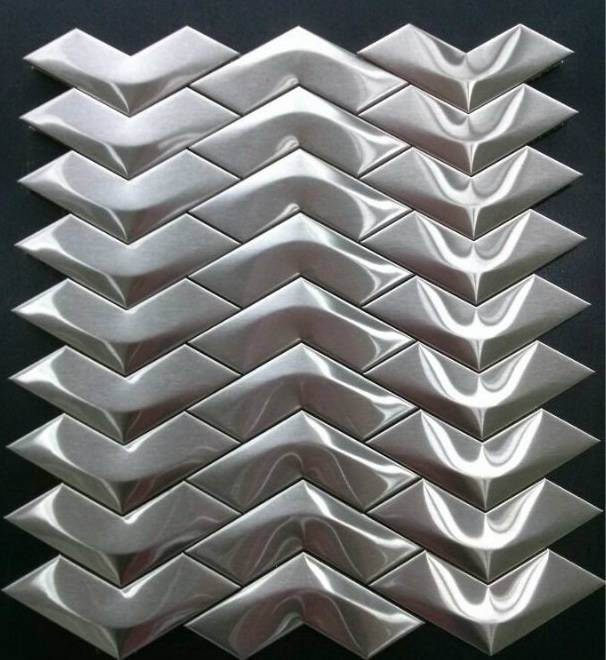 Stainless steel mosaic/Metal mosaic
