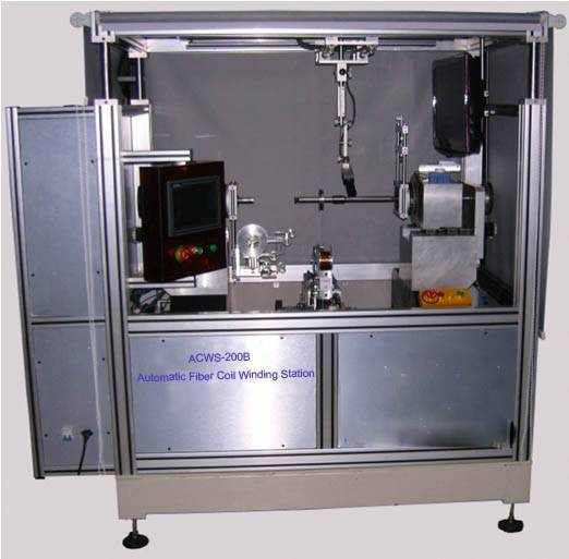 Automatic Fiber Coil Octupole Winding Station