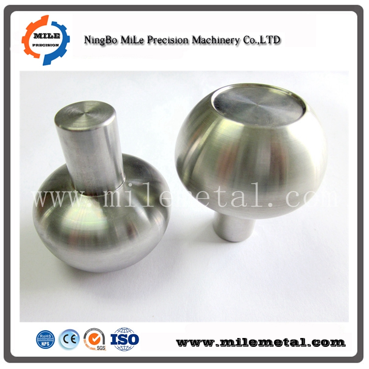 SS304 knobs, stainless steel forging with CNC machined parts,