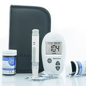 Safe Accu Blood glucose Monitoring System for Household