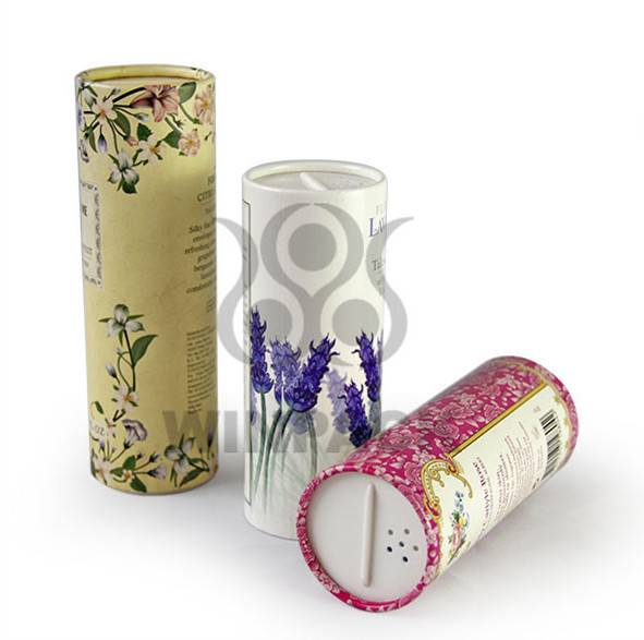 Cosmetic Paper Cans Packing