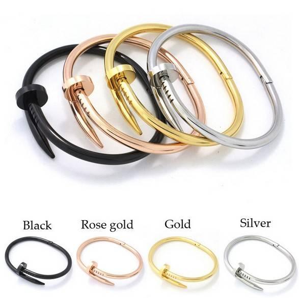 Nail Titanium steel bracelets