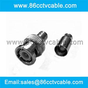 BNC Male quick crimp connector for RG 59/62 cable (2 piece)