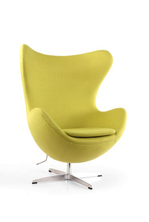 egg chair,leather Fabric upholstery leisure chair, various color available,leather sofa