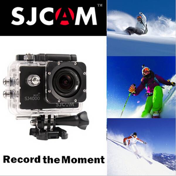 Original WIFI SJCAM SJ4000 WIFI Action Camera ,Diving 30M Waterproof Sport Camera 1080P Camera Style