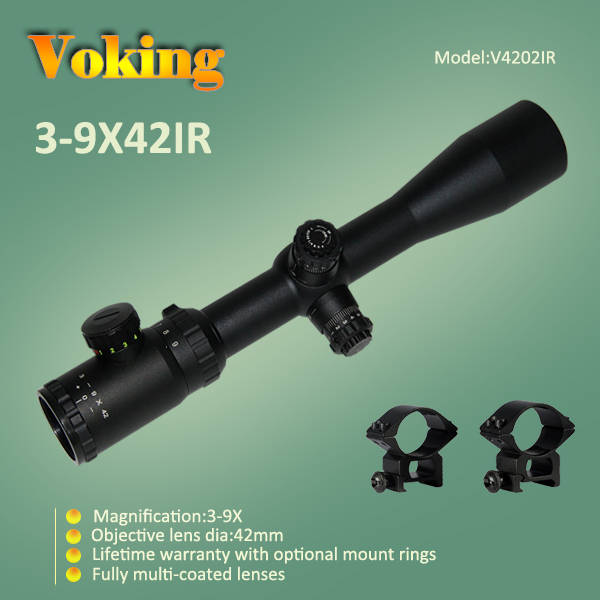 Voking 3-9X42 IR magnifier scope with your own APP