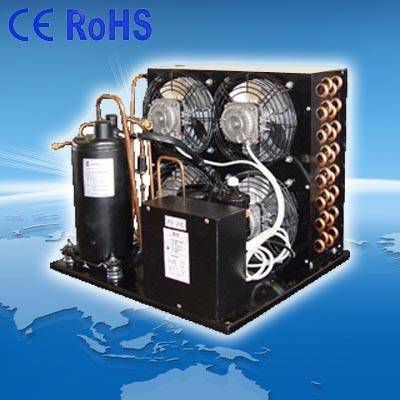 Air cooled refrigerating condensing unit