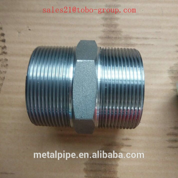 Threaded Weld/Seamles Male Stainless Steel 304l/316l Piple Nipple