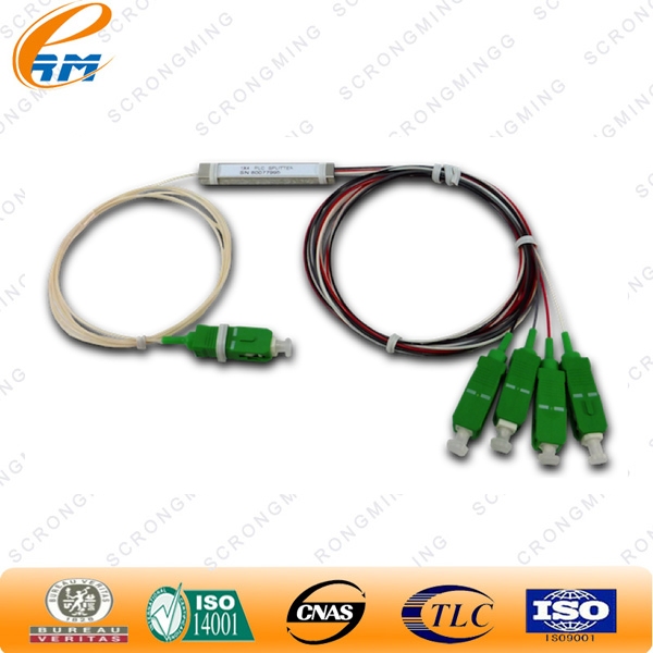 Pre-embedded FTTH SC/APC fiber optic fast connector/apc