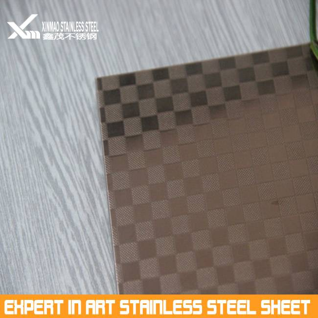 304 imitation wood grain stainless steel decoration sheet