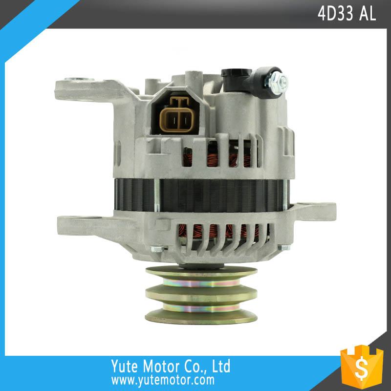 YTM 4D33 24 volt 45A A3T1V5188 japan construction alternator for HD513