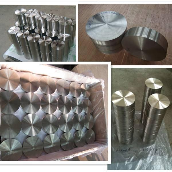 Forged ASTM B381 titanium round disk
