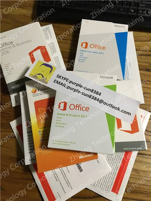 Office 2016 2013 2010 HB HS Pro Key Coad Brank New Visio Project fpp oem