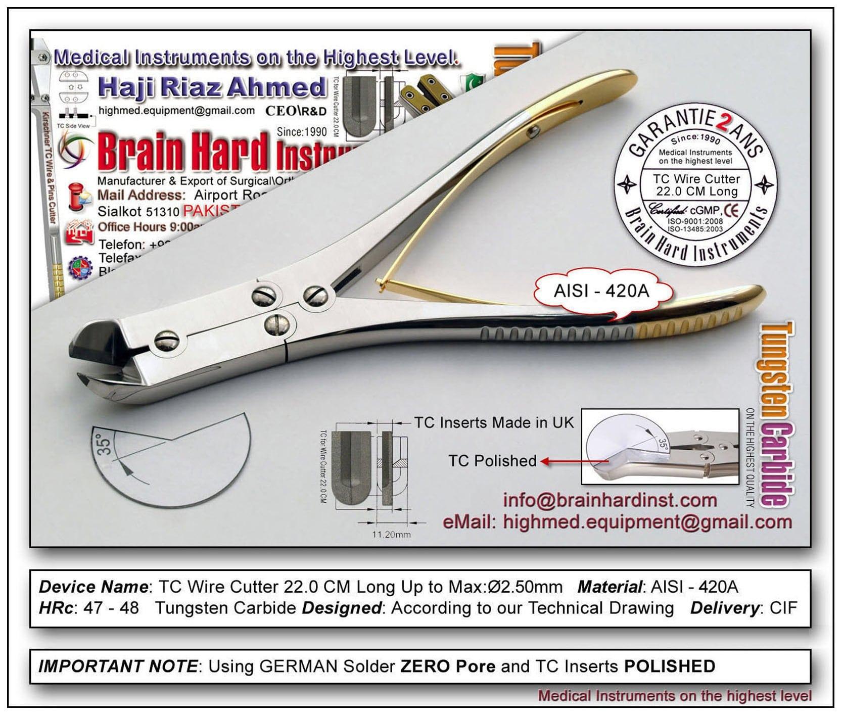 TC wire cutter