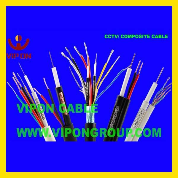 CCTV Cable (Combo, Shotgun, Siamese, RG59+2+2, RG59+4, Minirg59+2+2, Minirg59+4)