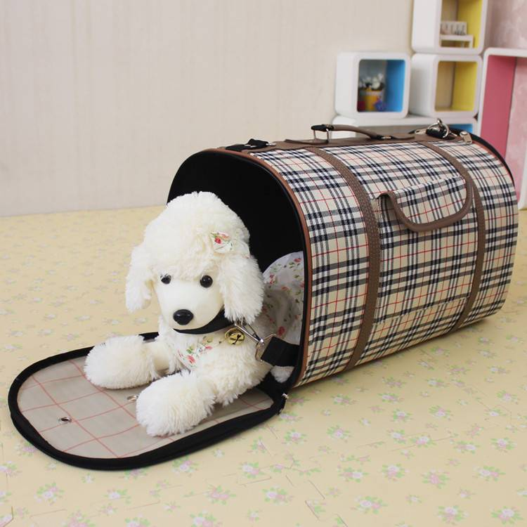 Lattice Dog Travel bag Pet Carriers Bags