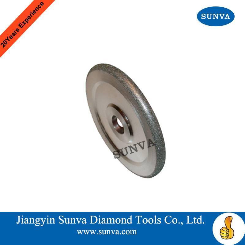 SUNVA Convex Diamond Grinding Wheel / Electroplated diamond grinding wheel