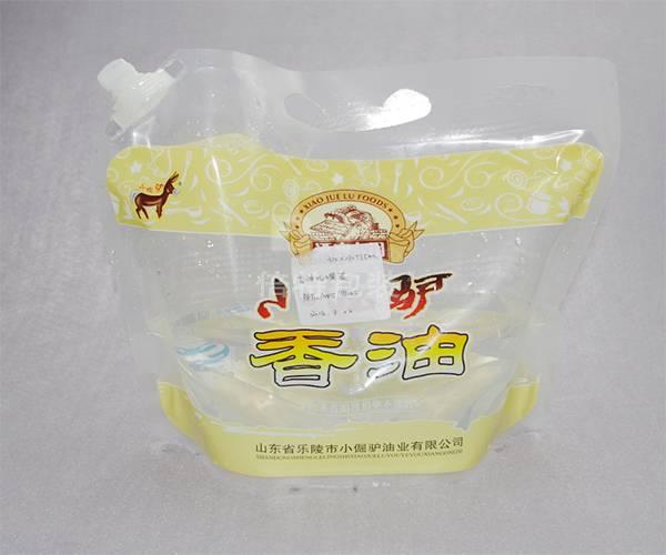 5L spout bag for oil