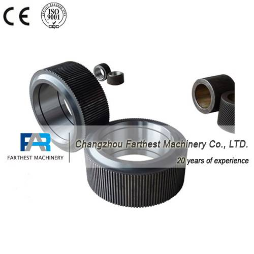 pellet machine roller assembly, feed machine steel roller