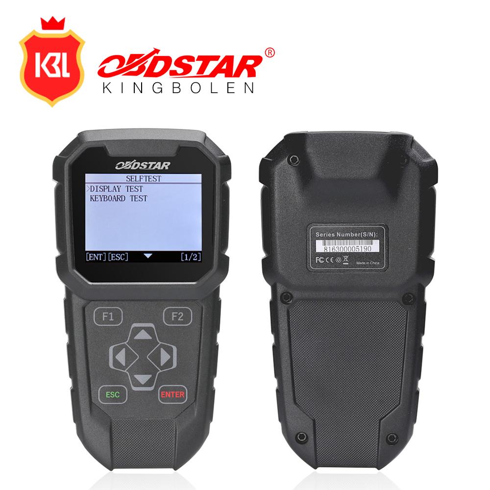 OBDSTAR J-I Key Programming Mileage Adjustment Diagnostic Tool for Japanese Vehicles J-I calculating