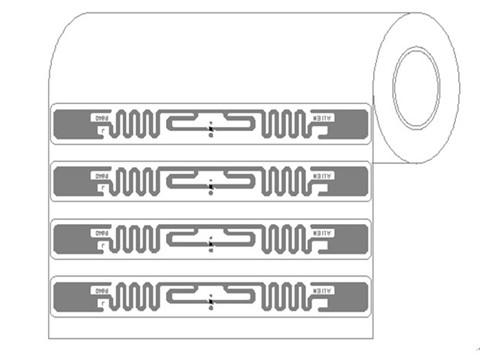 RFID UHF Alien 9640 Label Tag