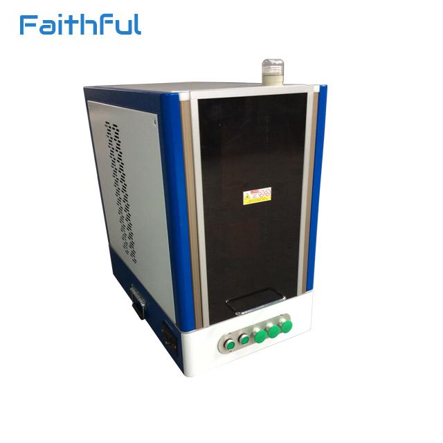 Mobile phone back cover printing fiber laser marking machine