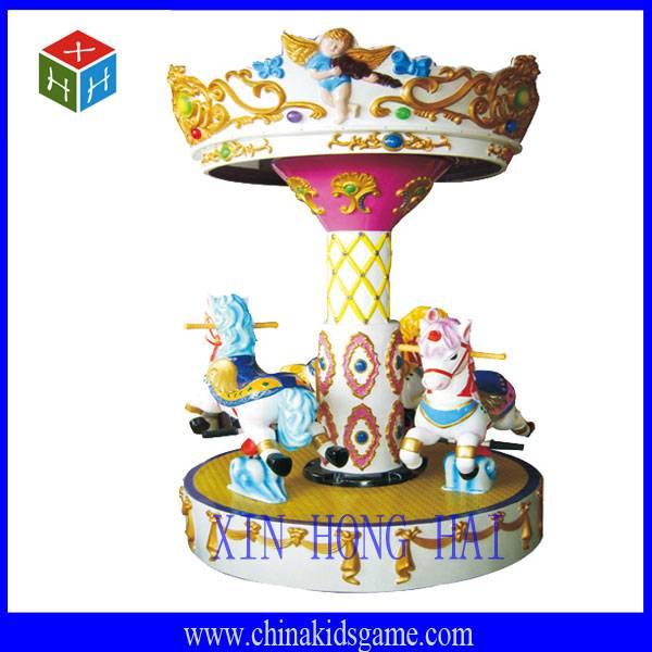 Amusement park swing machine, small angle carousel