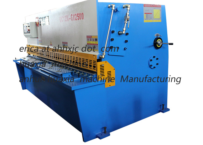QC12K CNC Hydraulic Shearing Machine 4mm 2500mm for Sale