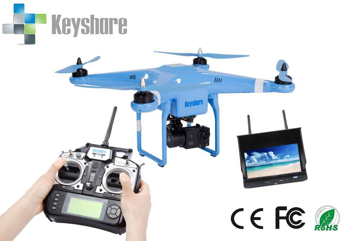 Hot selling 5.8g 7CH image transimission rc quadcopter with hd camera rc drone with camera