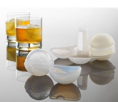 Promotional Cool Silicone Ice Ball Mold