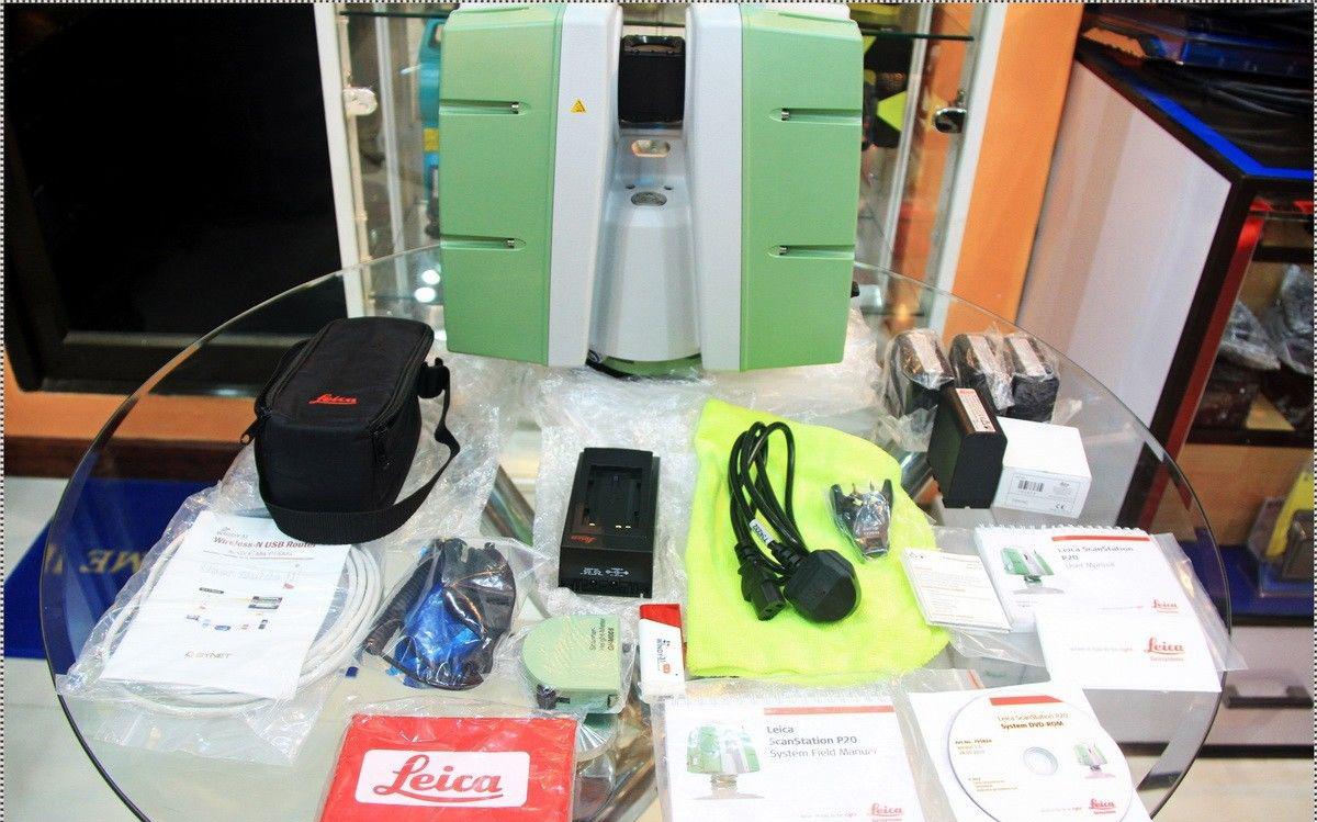 Leica ScanStation P20 Ultra-High Speed Laser Scanner