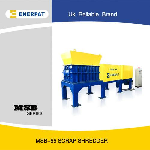Scrap Metal Shredder with CE