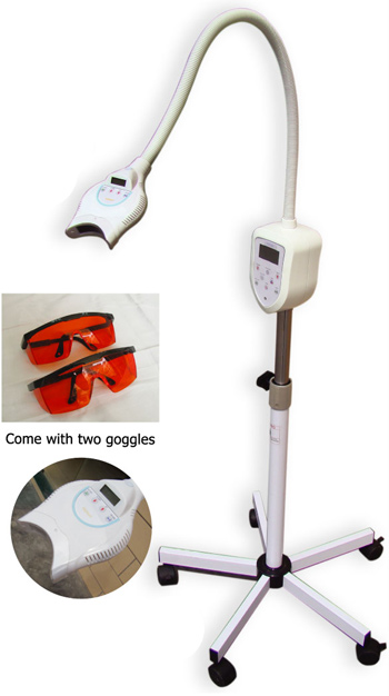 Teeth whitening machines with Blue & red light and touch buttons